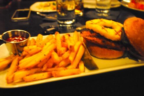 Blackened Chicken & Pineapple Sandwich