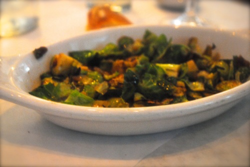Brussels Sprouts and Pistachios