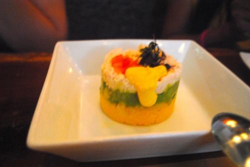 Causa de Cangrejo - potatoes, crab, avocado