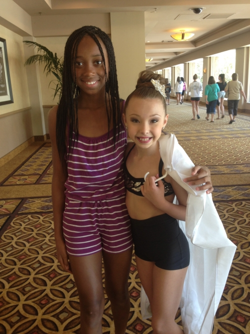 My dance kid with Sophea Lucia