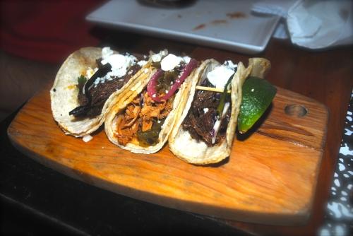 Tres Adobo Tacos