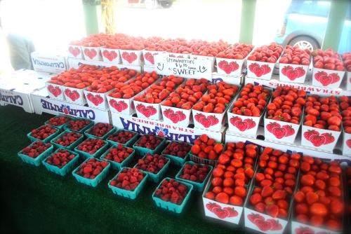 Fresh strawberry margarita, anyone?