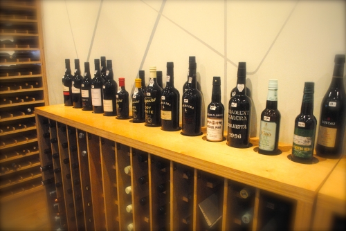 Great selection of Port wines