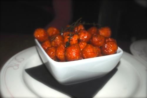 Maple Glazed Sweet Potato Tots