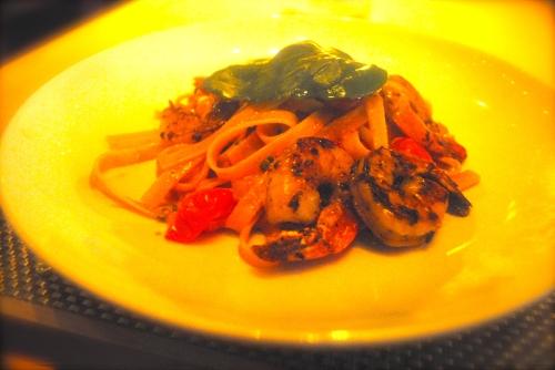Fettuccine Shrimp Marscapone