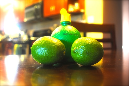 Secret: One of these is NOT a real lime