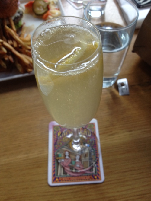 I did find room for another drink - Lavender French 75