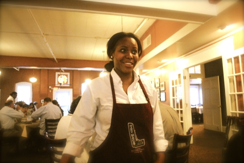 Our lovely server